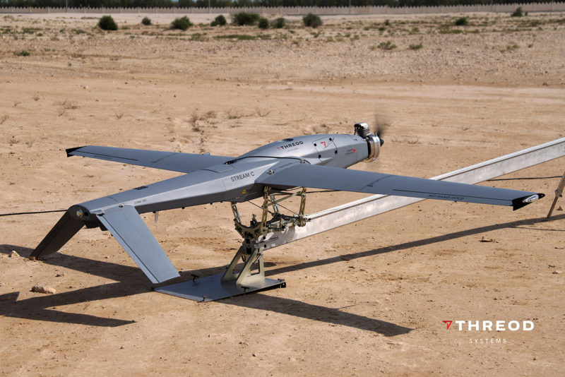 Stream C UAV catapult desert launch