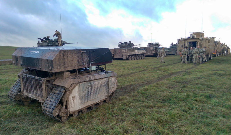 awe-threod-titan-tether-milrem-themis-british-army-exercise-troops