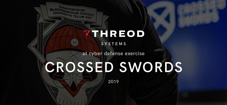 CCDCOE_XS19_THREOD_CROSSED_SWORDS