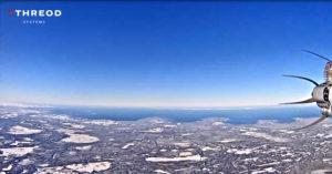 Threod Stream C UAV seen Finland from Estonia