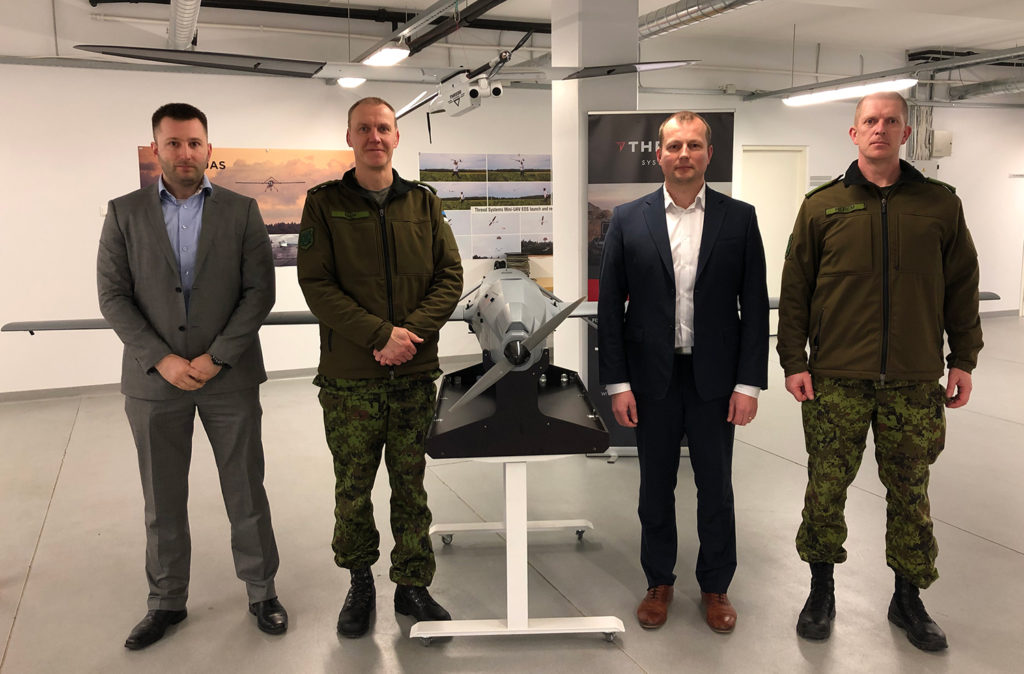 Commander of the Estonian Defense Forces Major General Martin Herem and Commander of the Headquarters of the Estonian Defence Forces Brigadier General Veiko-Vello Palm visited Threod Systems