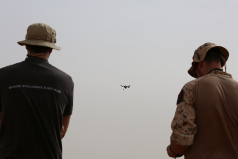 Titan UAV Titan and THeMIS UGV