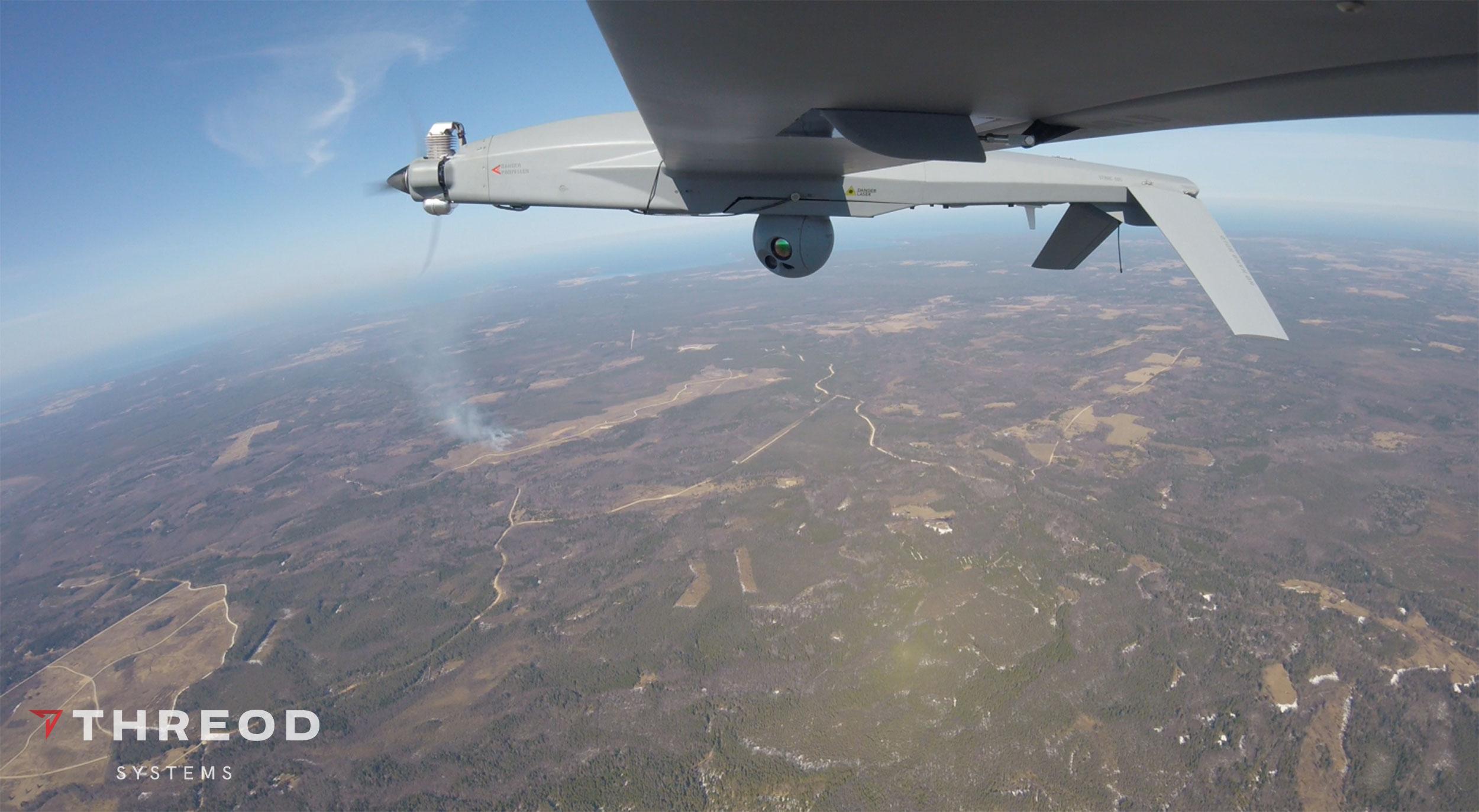 Stream C UAV Performed at Artillery Battalion Live-Fire Exercise