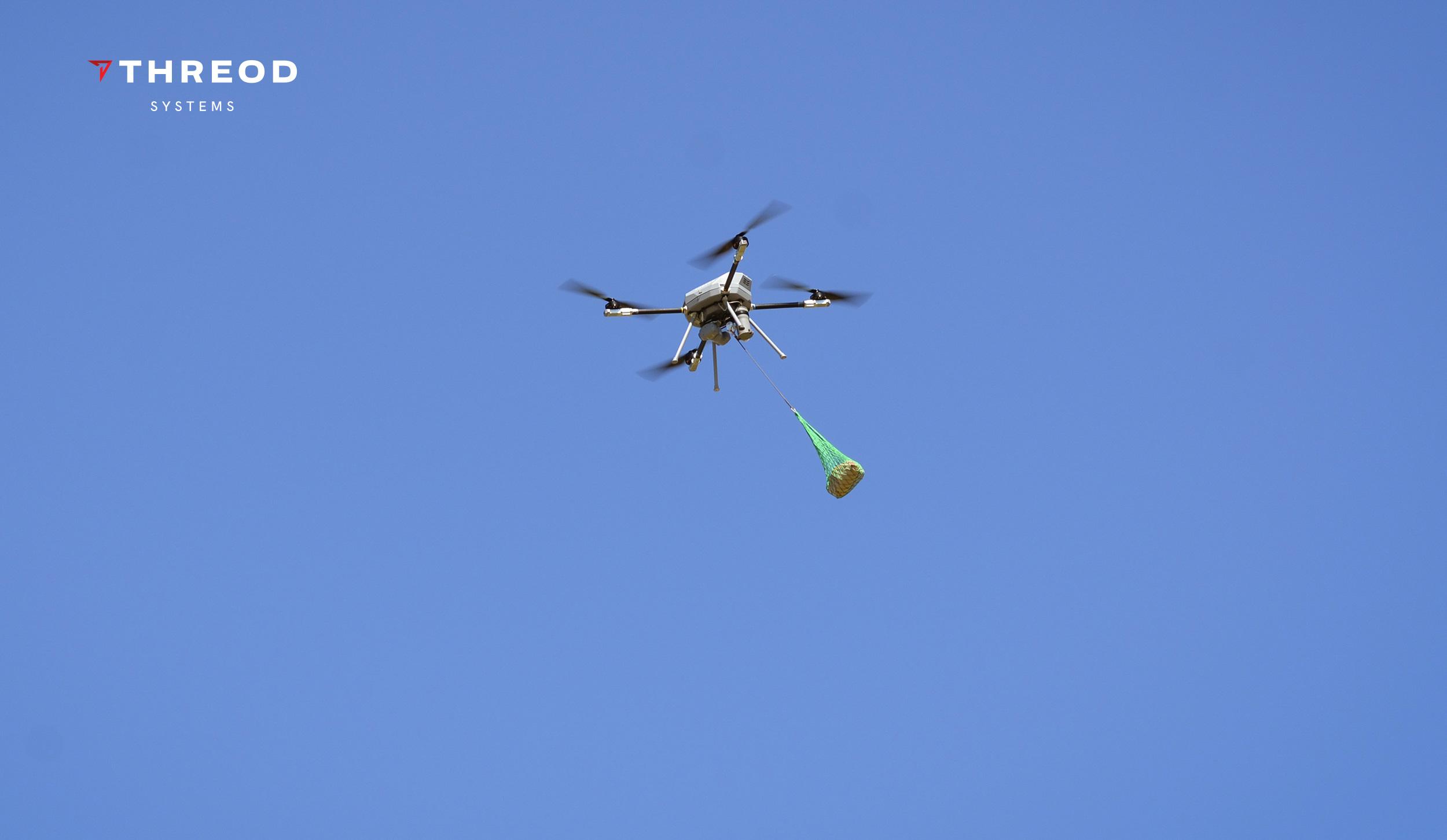 Design master class Titan drone demo