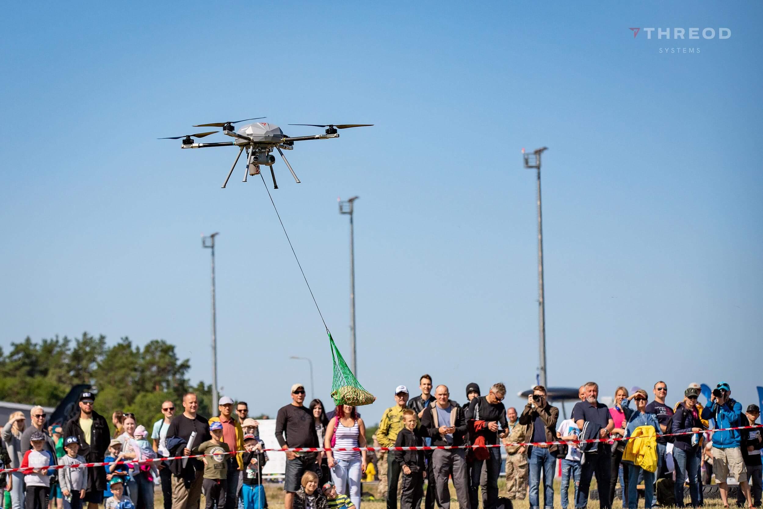 Titan drone at Ämari air show
