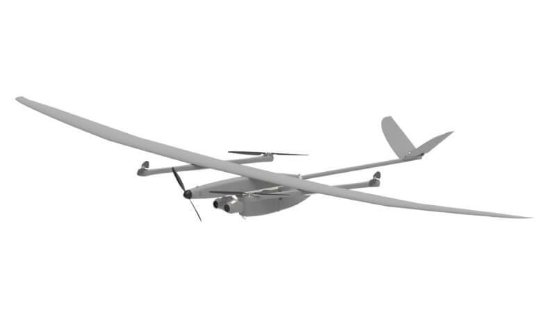 EOS C hybrid fixed wing VTOL UAV