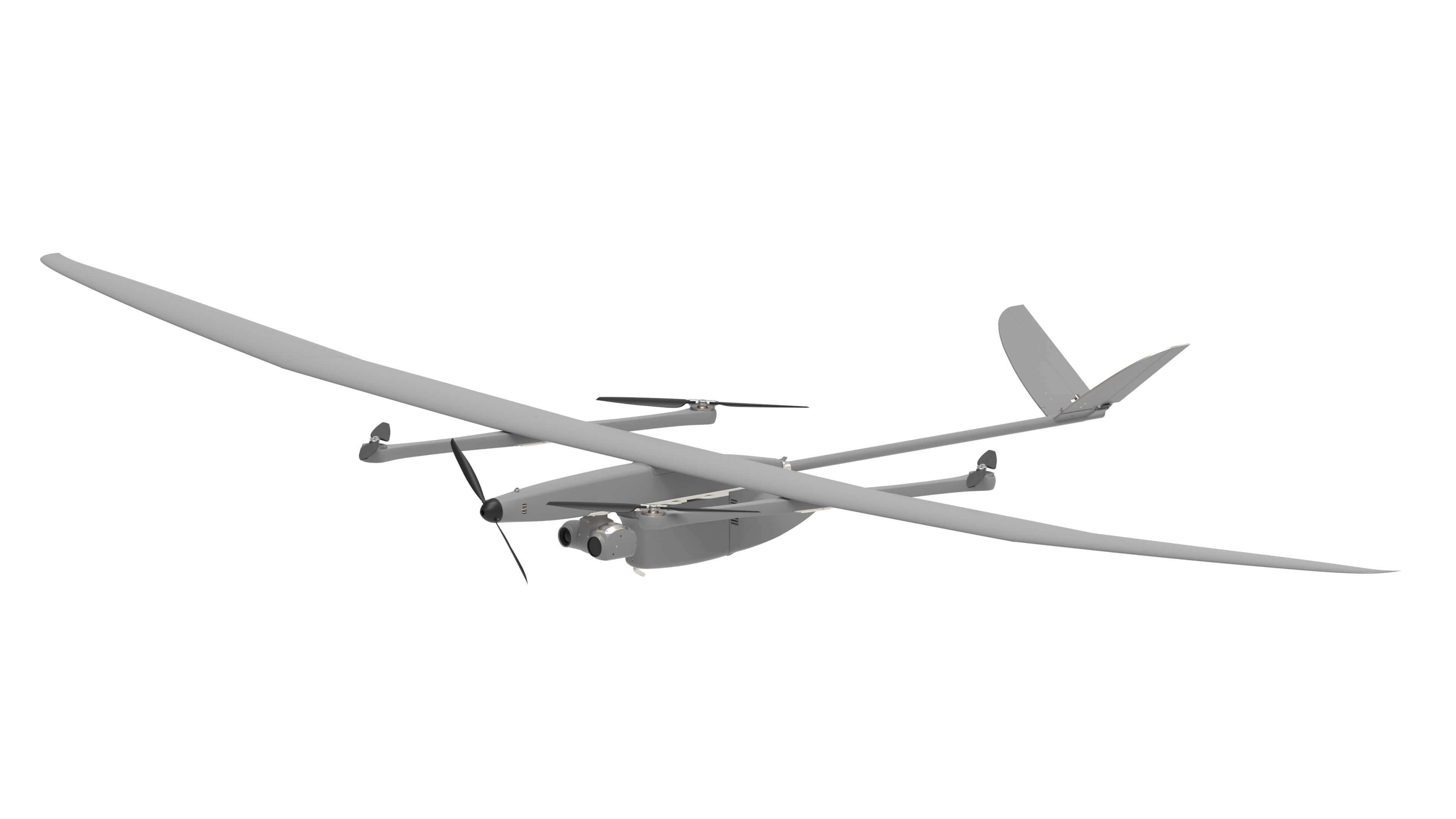 EOS C hybrid fixed wing VTOL UAV