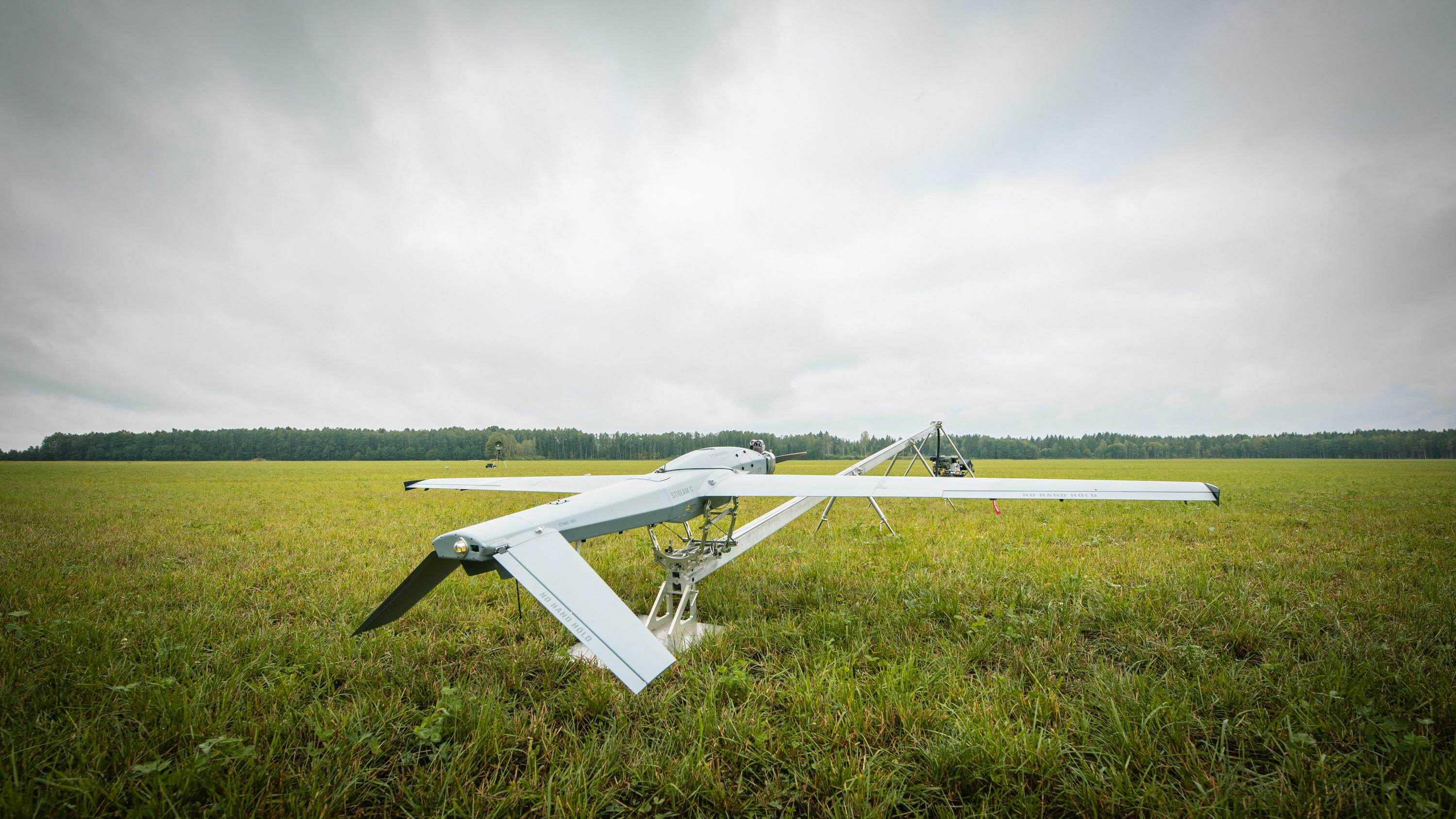 Stream C UAV flight ready UAV launching system