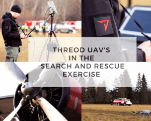 Threod UAVs in Search and Rescue