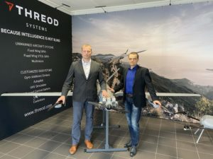 Villiko Nurmoja CEO of Threod Systems unmanned aircraft systems hands over the CEO role to Arno Vaik