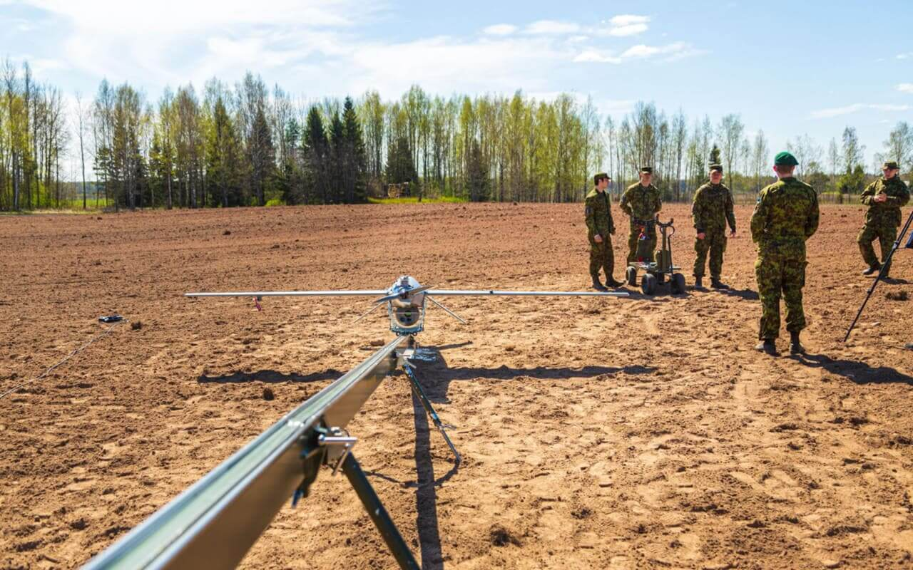 Stream C Border Guard UAV mission